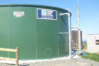 Selwyn Rural Water Supply Reservoir 2014