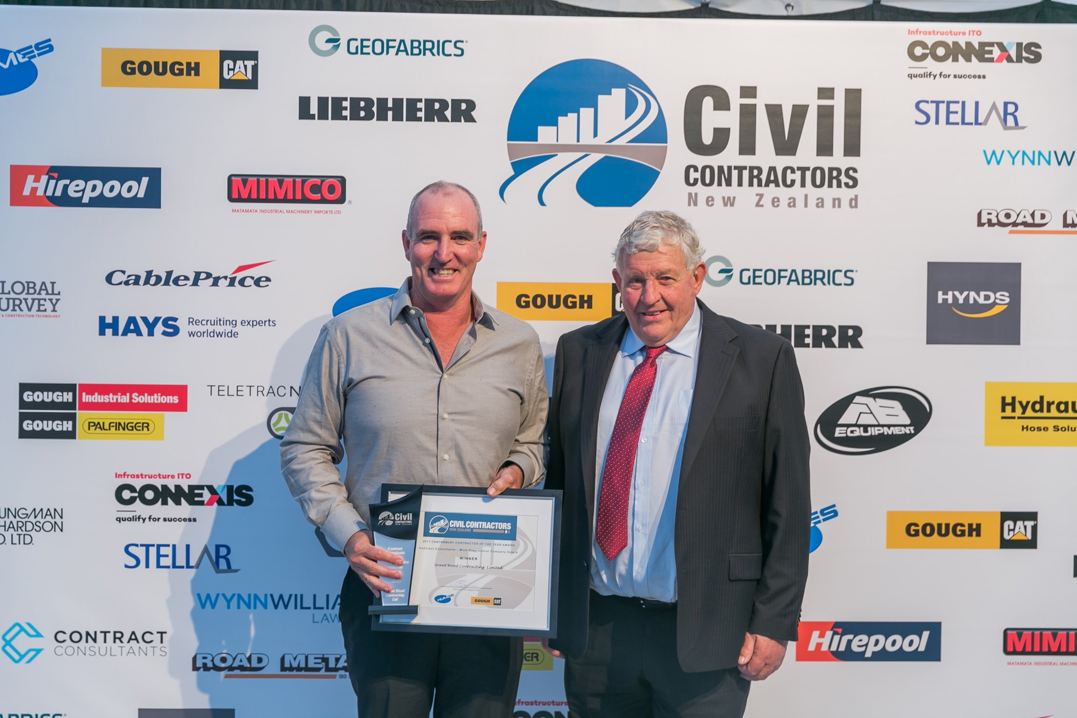 2017 Canterbury Contractor of the Year Awards