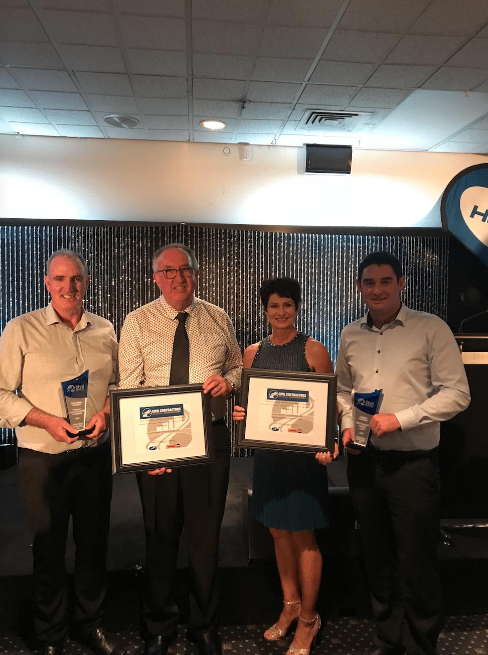 2019 Civil Contractors New Zealand Award Winners